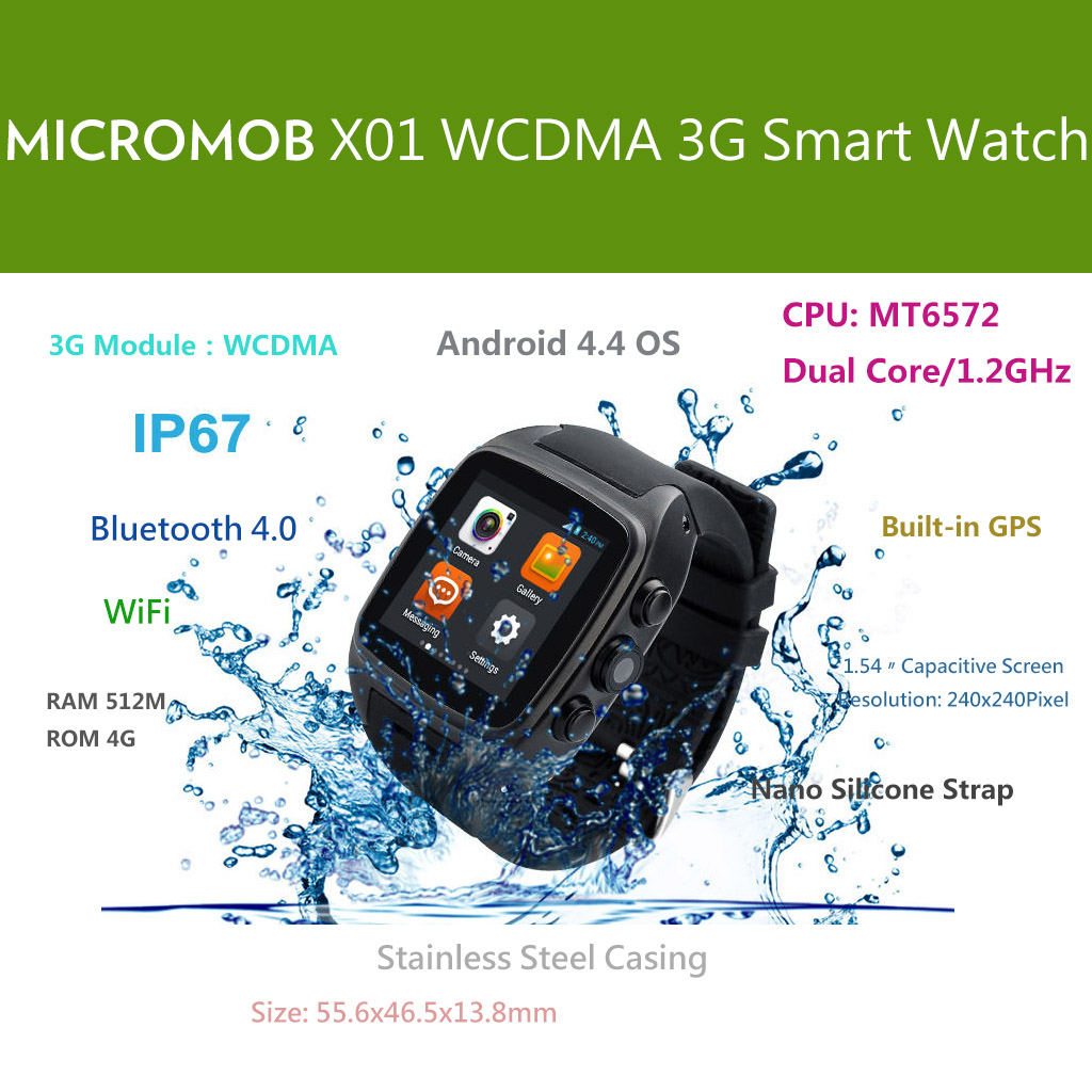 MICROMOB X01 3G Smart Watchphone