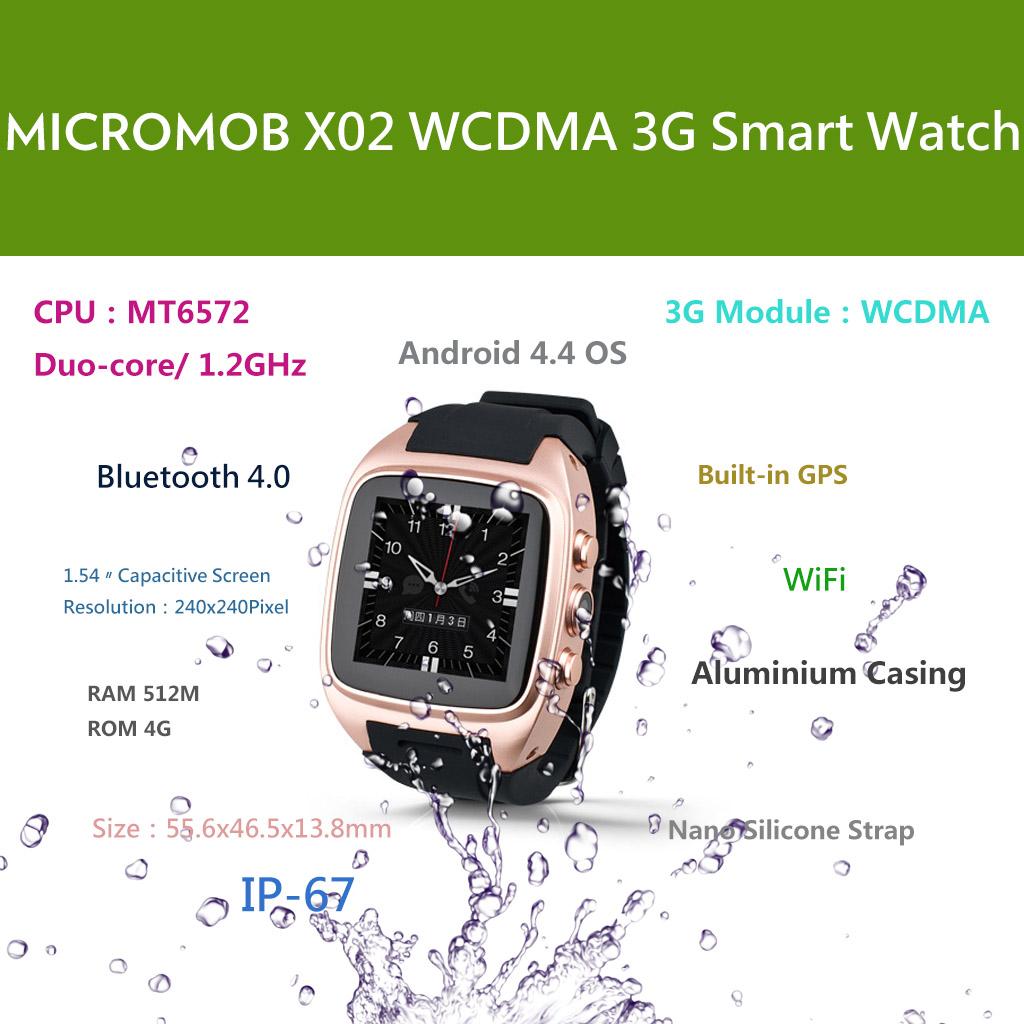 MICROMOB X02 3G Smart Watchphone