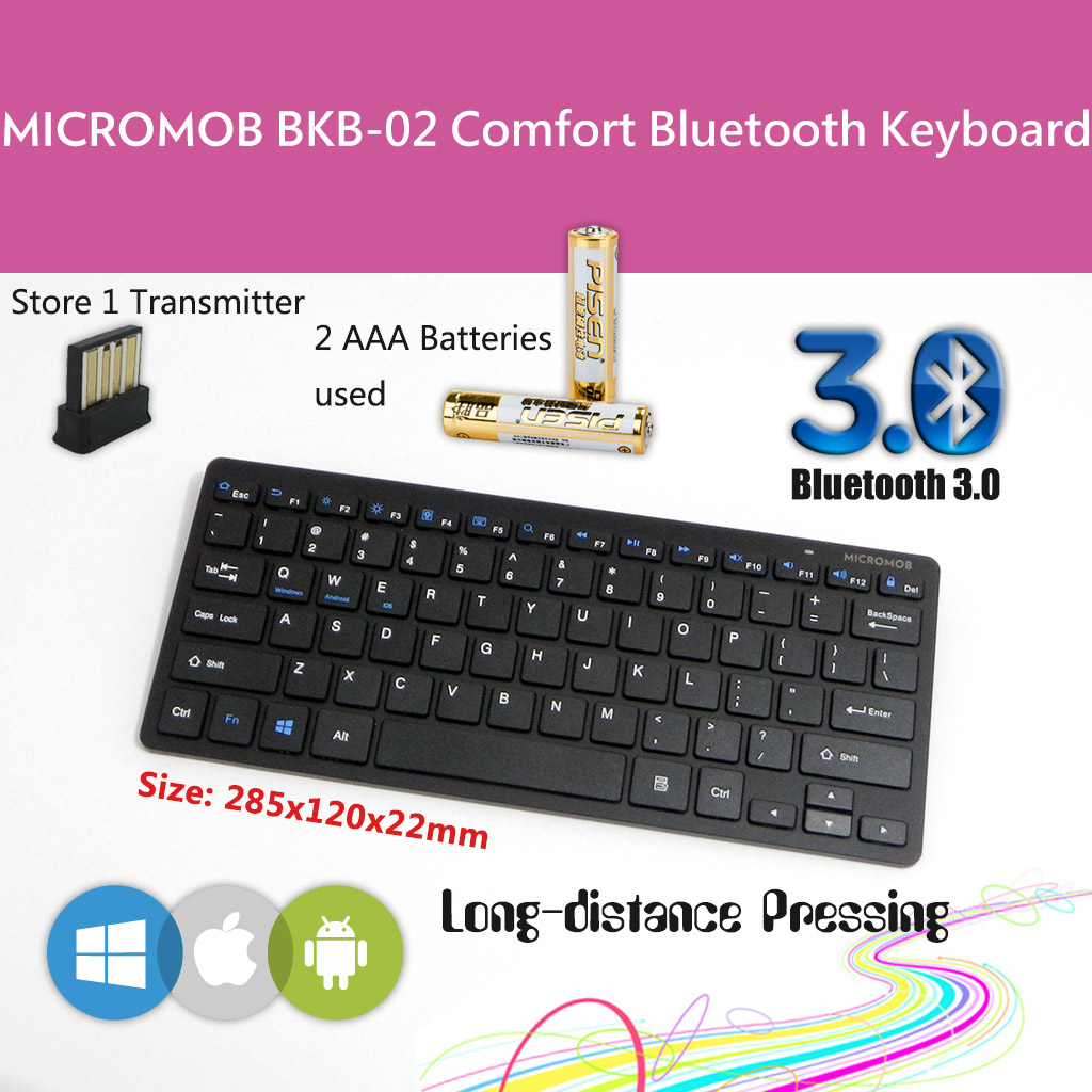 BKB-02 Bluetooth Keyboard